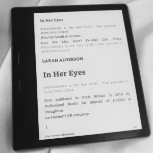 In Her Eyes by Sarah Alderson