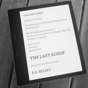 The Last Scoop by R.G. Belsky