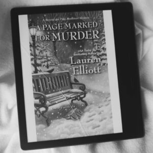 A Page Marked for Murder by Lauren Elliottt